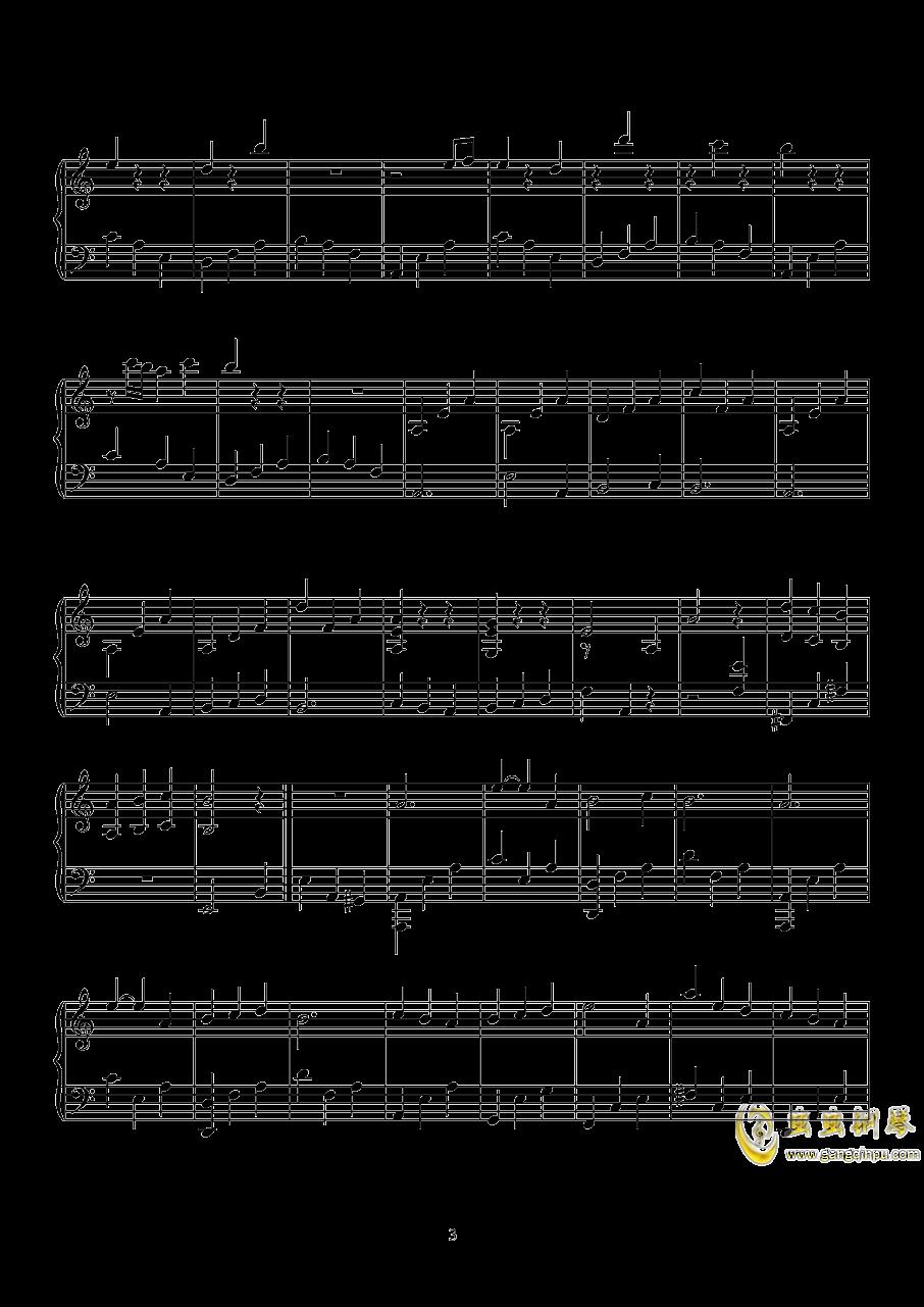 无影灯下BGM钢琴谱 第3页