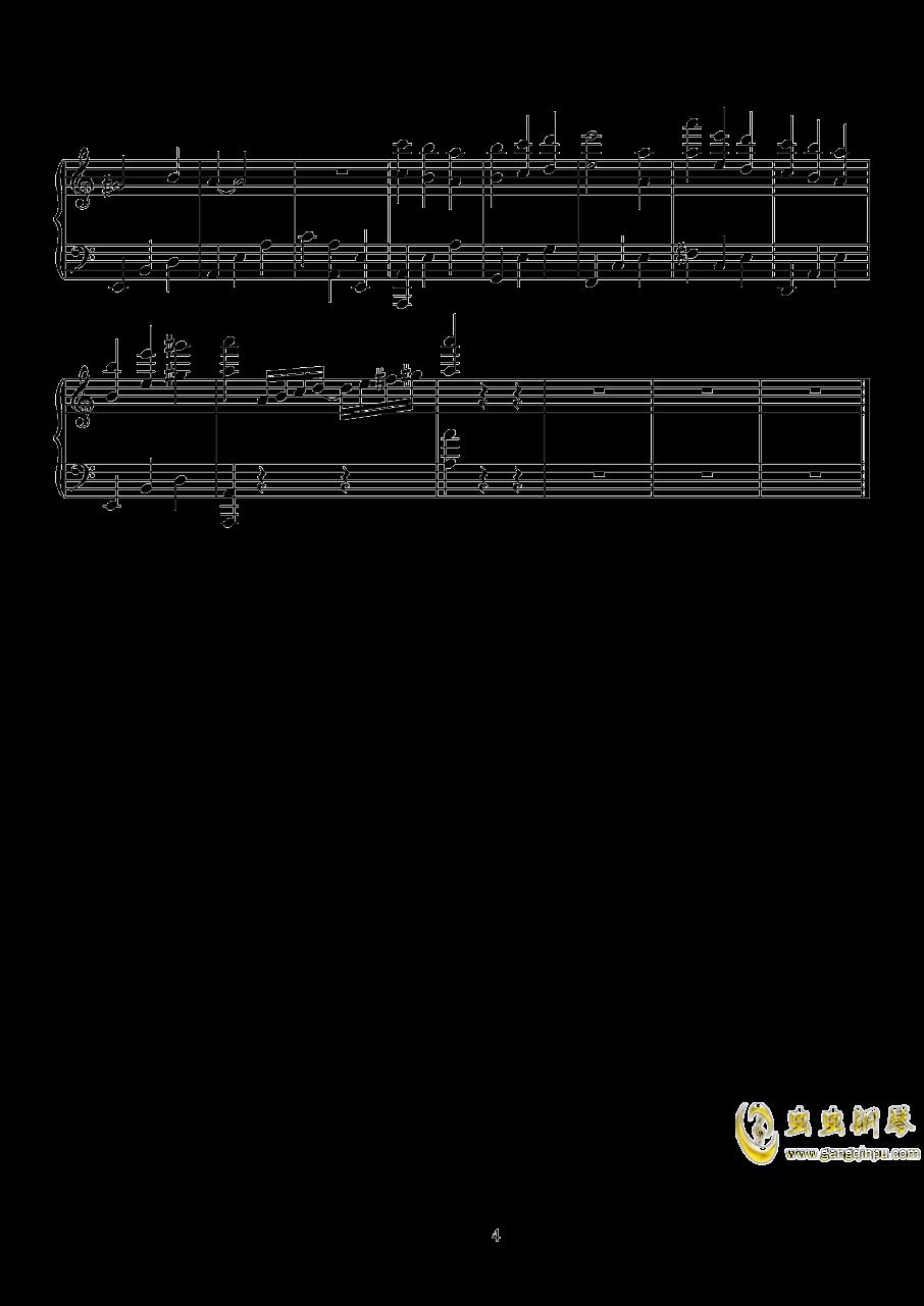 无影灯下BGM钢琴谱 第4页