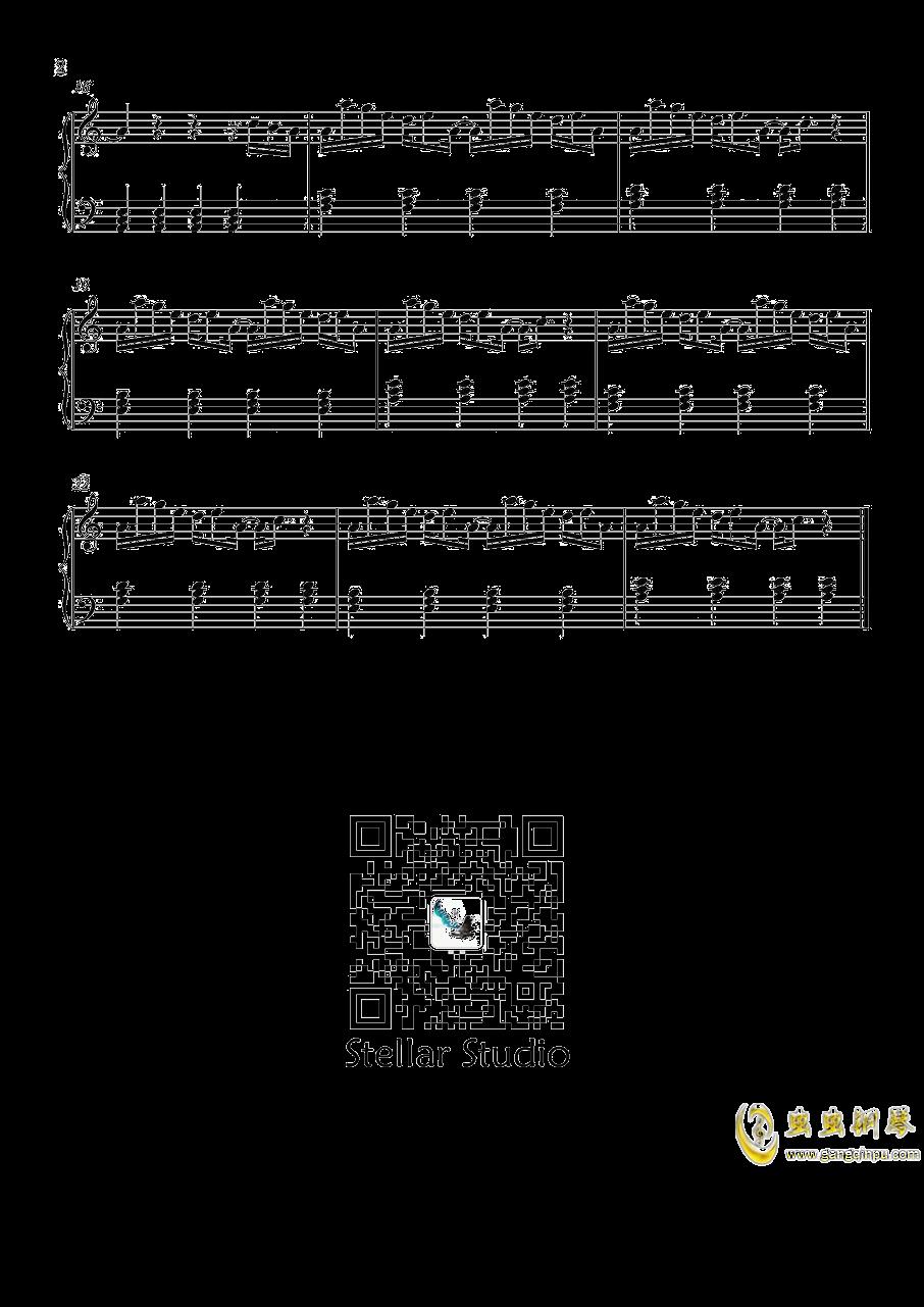 悬溺钢琴谱 第2页
