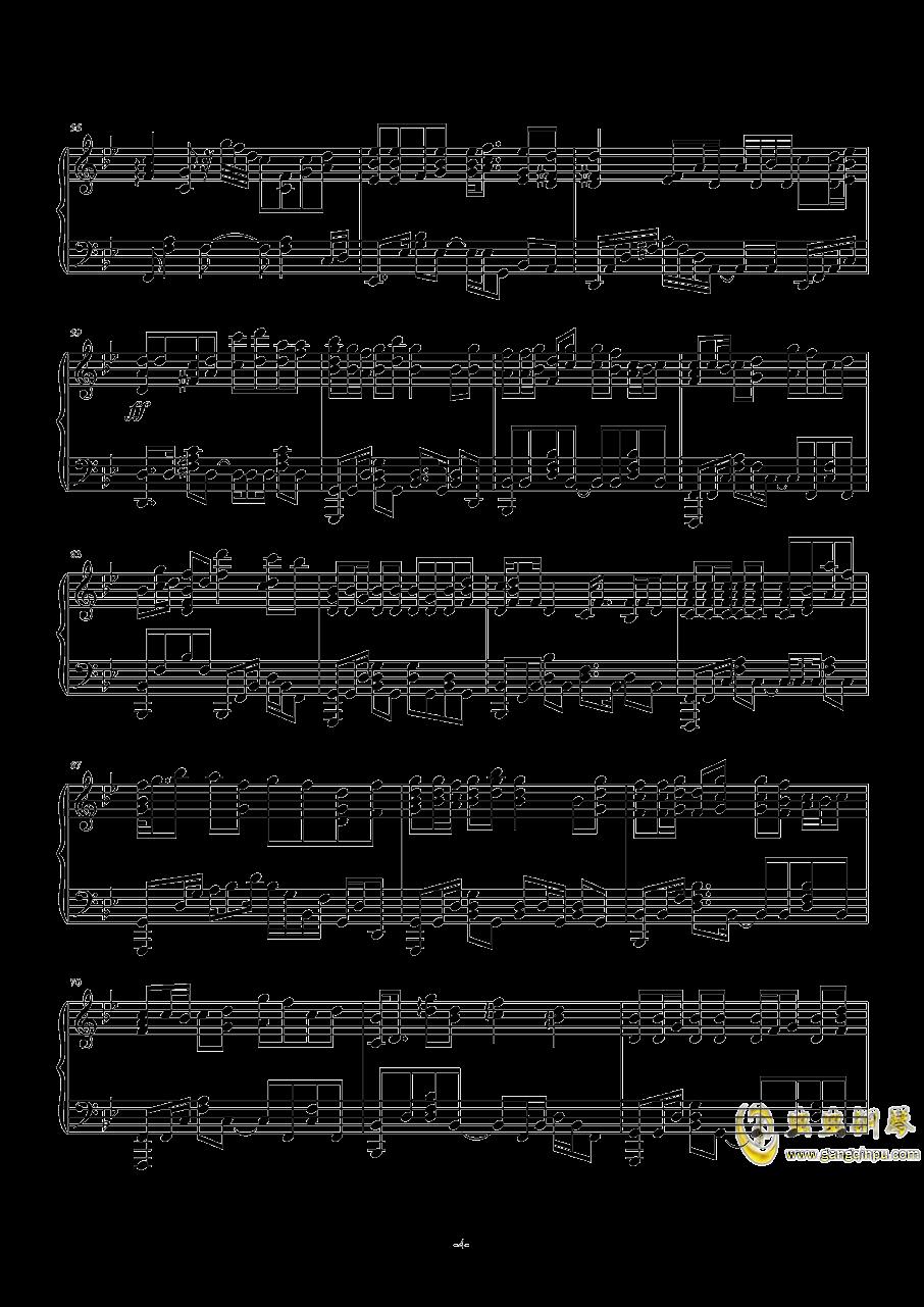 一生与你擦肩而过钢琴谱 第4页