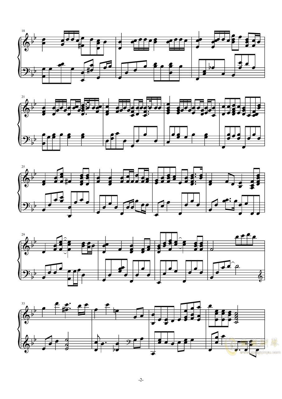 �f好不哭(高度�原版)【Cuppix�配】�琴�V 第2�