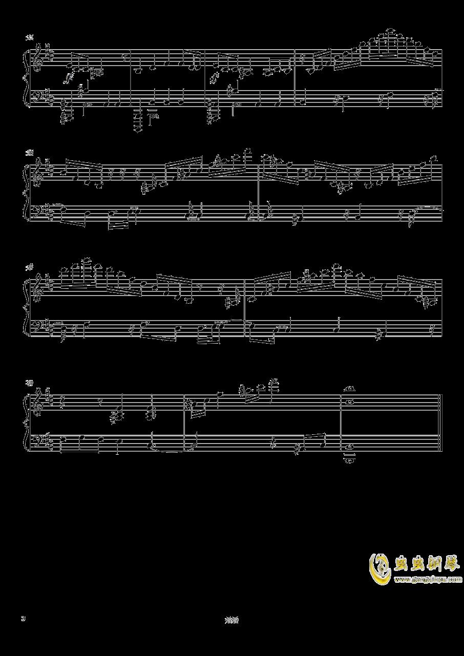 森林钢琴谱 第2页