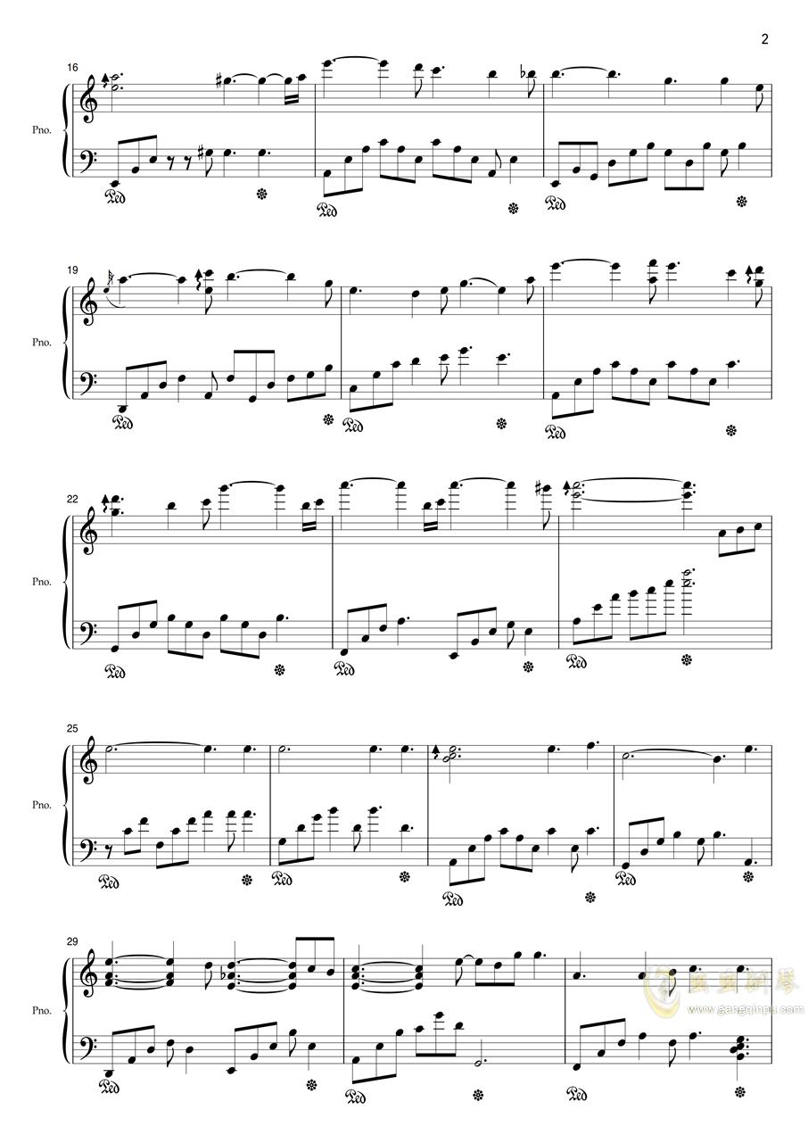 2‰德国骨科病人钢琴谱 第2页