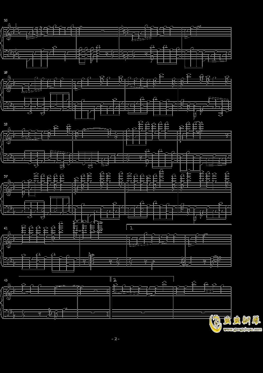 全职高手钢琴谱 第2页