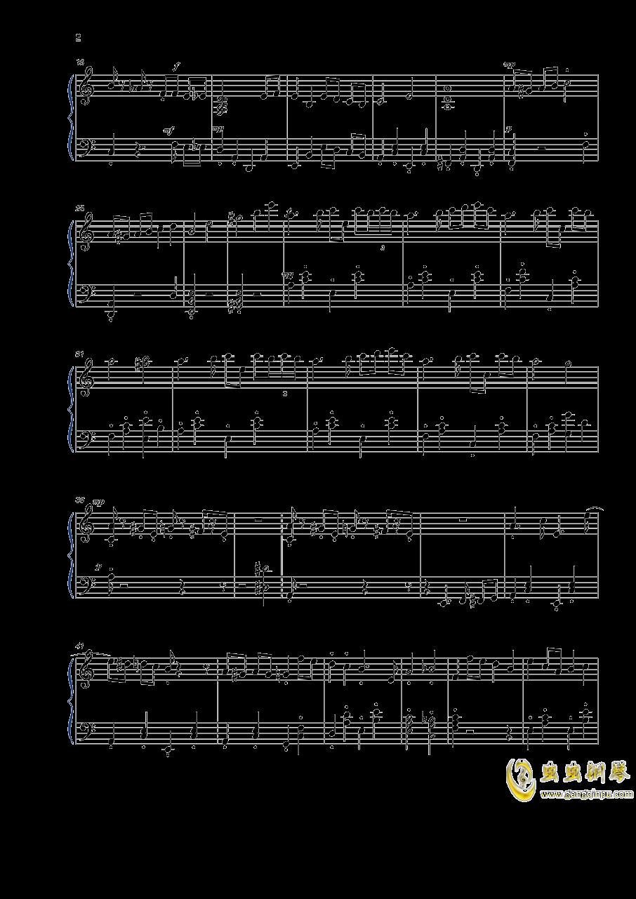 植物大战僵尸钢琴谱 第2页