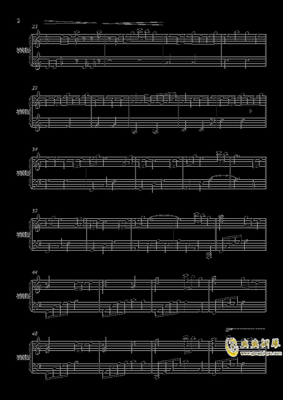 花火大会_天气之子钢琴谱 第2页