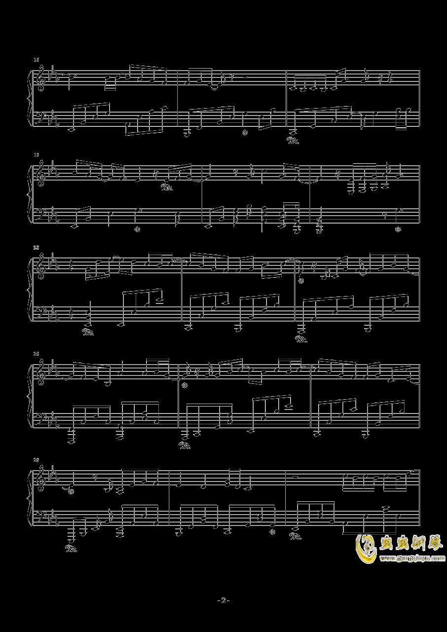 こんな世界、知りたくなかった钢琴谱 第2页