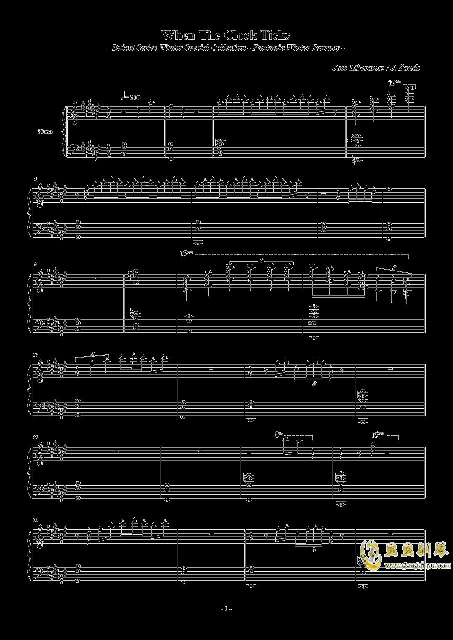 sky hooks钢琴谱 第1页
