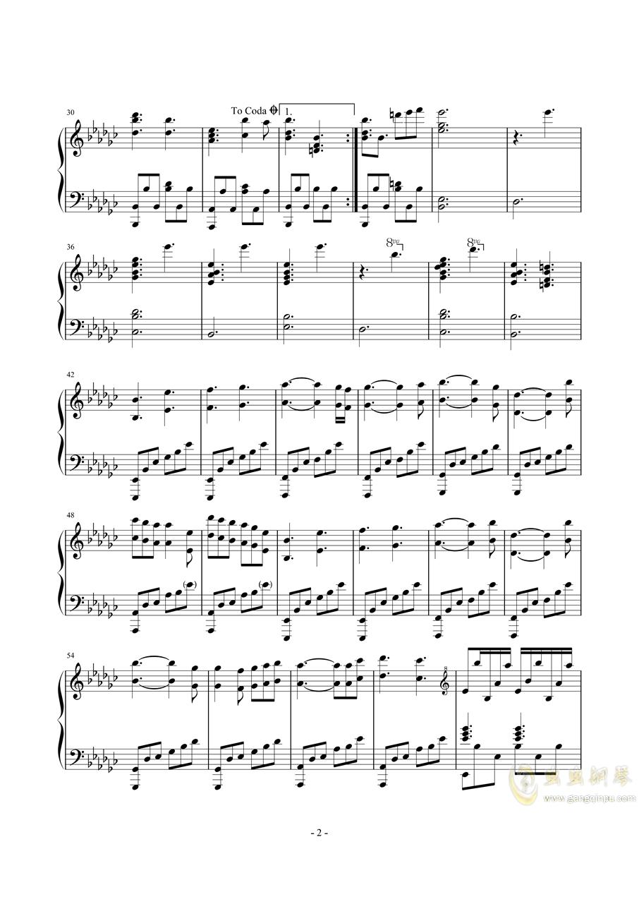 春色小径 - Colorful Path钢琴谱 第2页