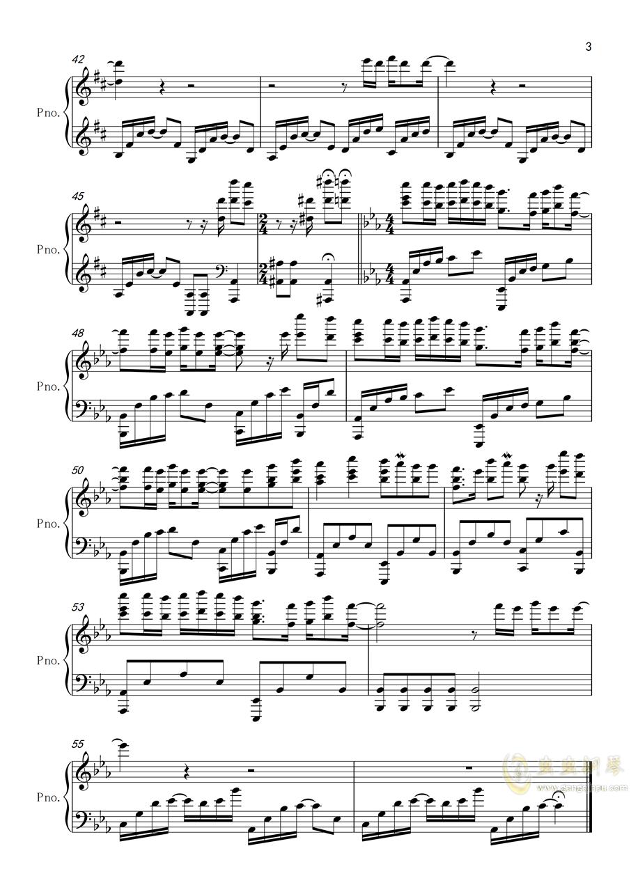 一百�f��可能(�琴��奏版)�琴�V 第3�