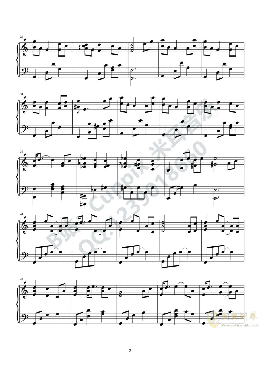 �乔喾� - 太空(Cuppix�配)�琴�V 第2�