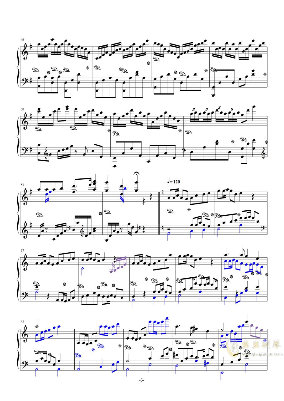 斗地主主题曲钢琴谱 第3页