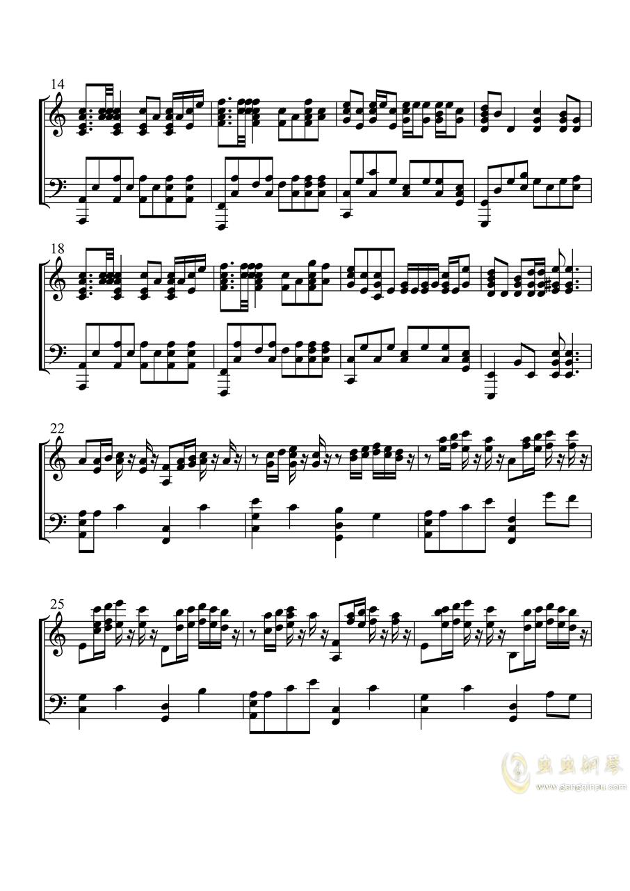 ��F洪流�M行曲�琴�V 第2�