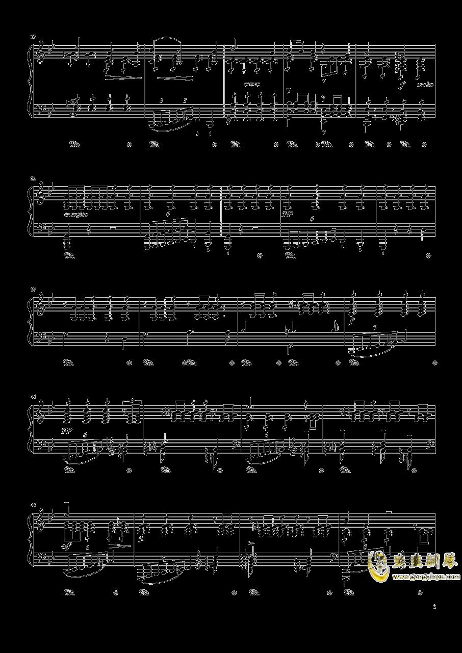 魔王钢琴谱 第3页
