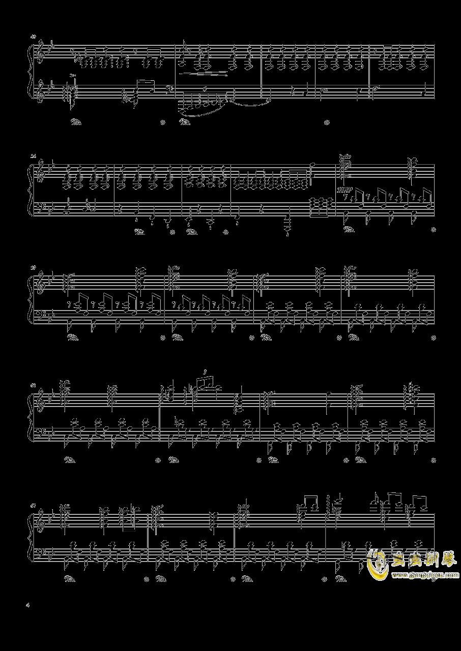 魔王钢琴谱 第4页