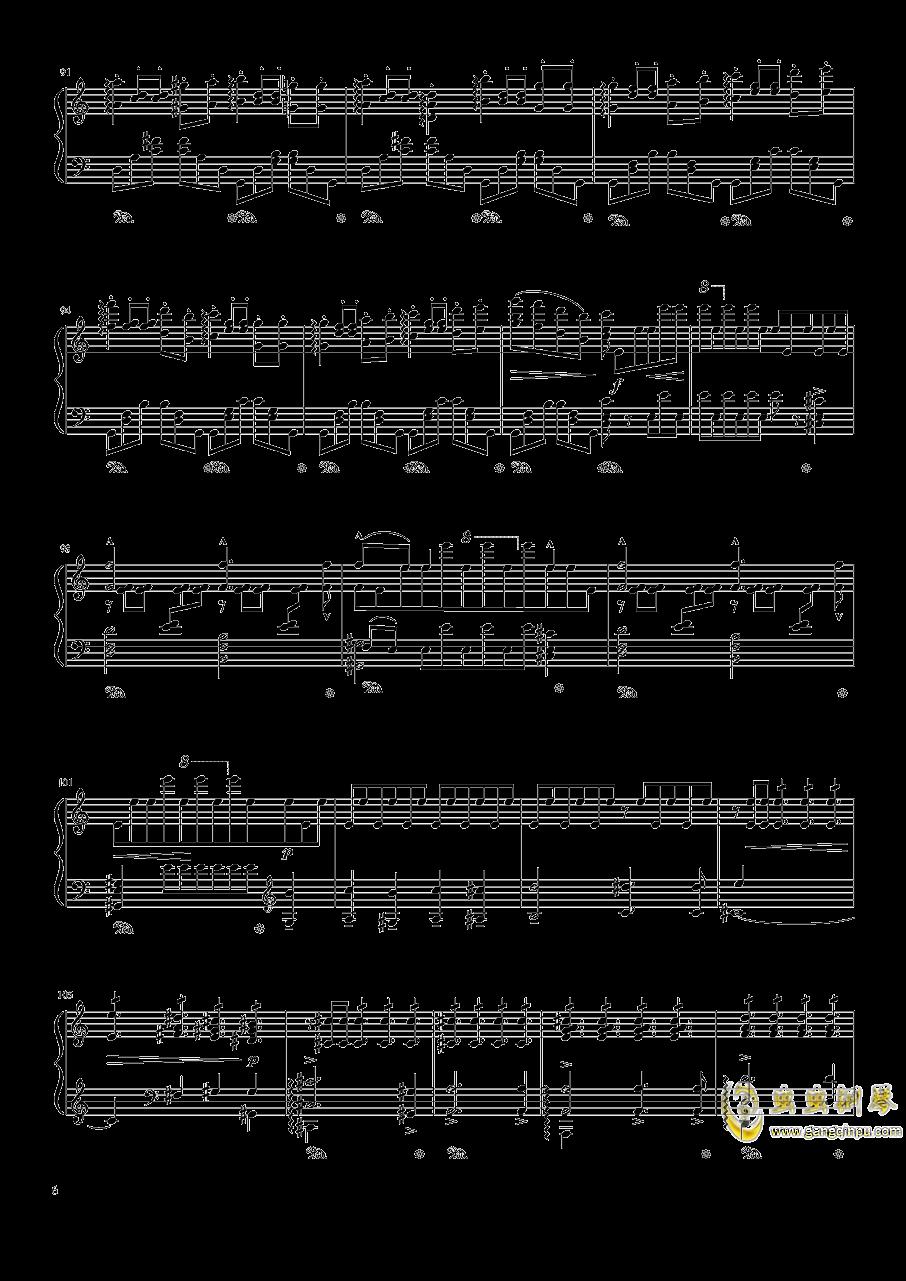 魔王钢琴谱 第6页