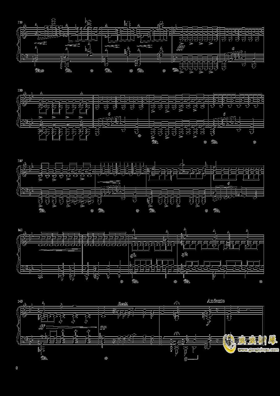魔王钢琴谱 第8页