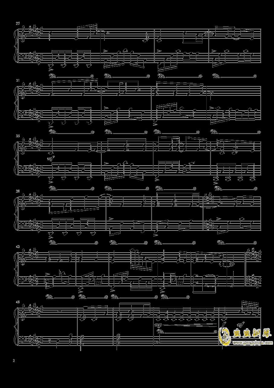 Moe Anime OP Thing钢琴谱 第2页