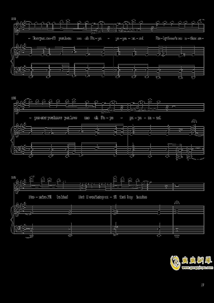 演唱会歌曲串烧钢琴谱 第17页