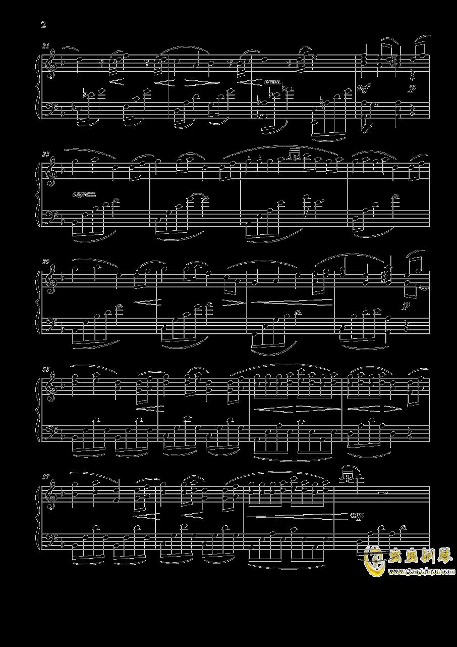 Bonus Track钢琴谱 第2页