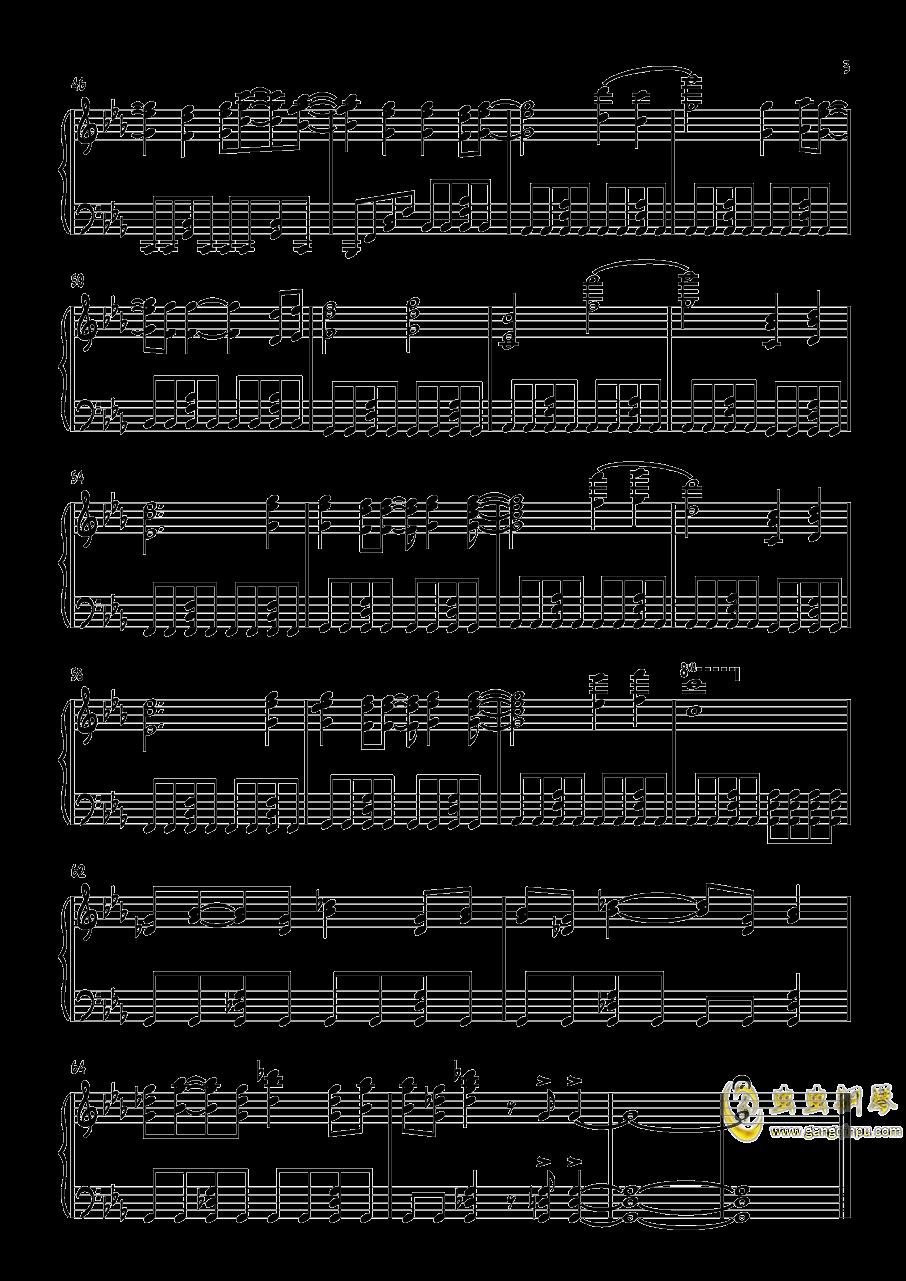 高达Seed Destiny-Pride钢琴谱 第3页