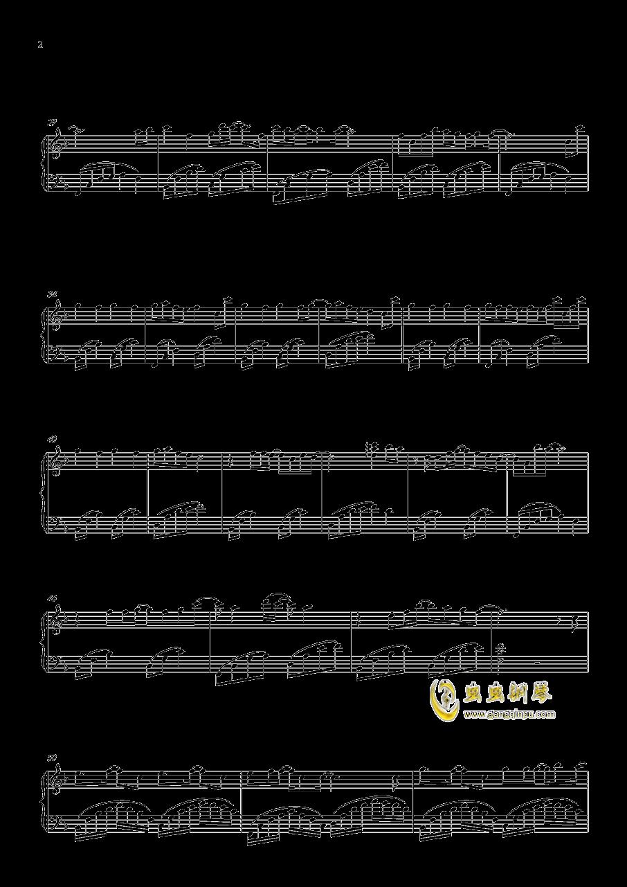 心跳的证明钢琴谱 第2页