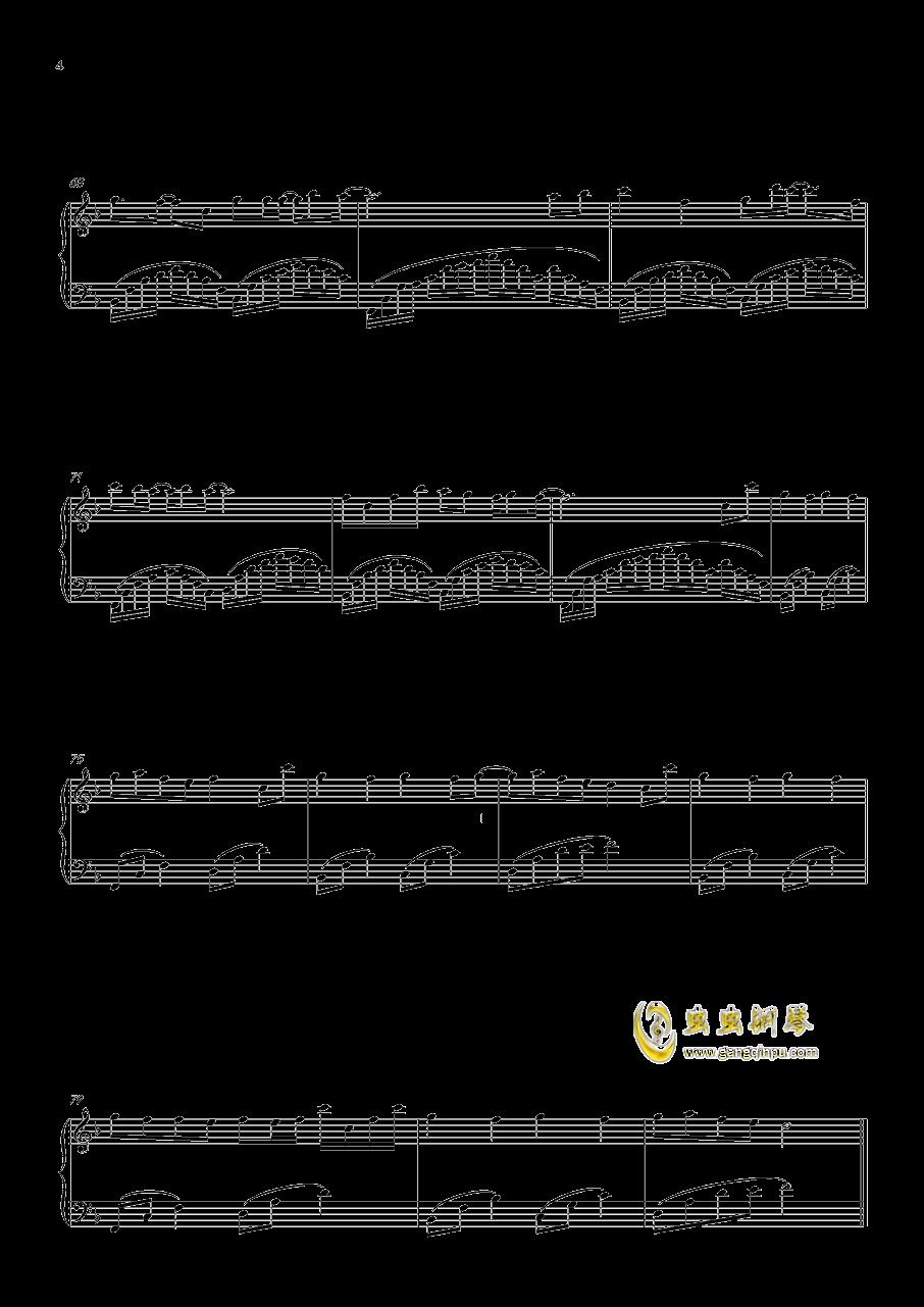 心跳的证明钢琴谱 第4页