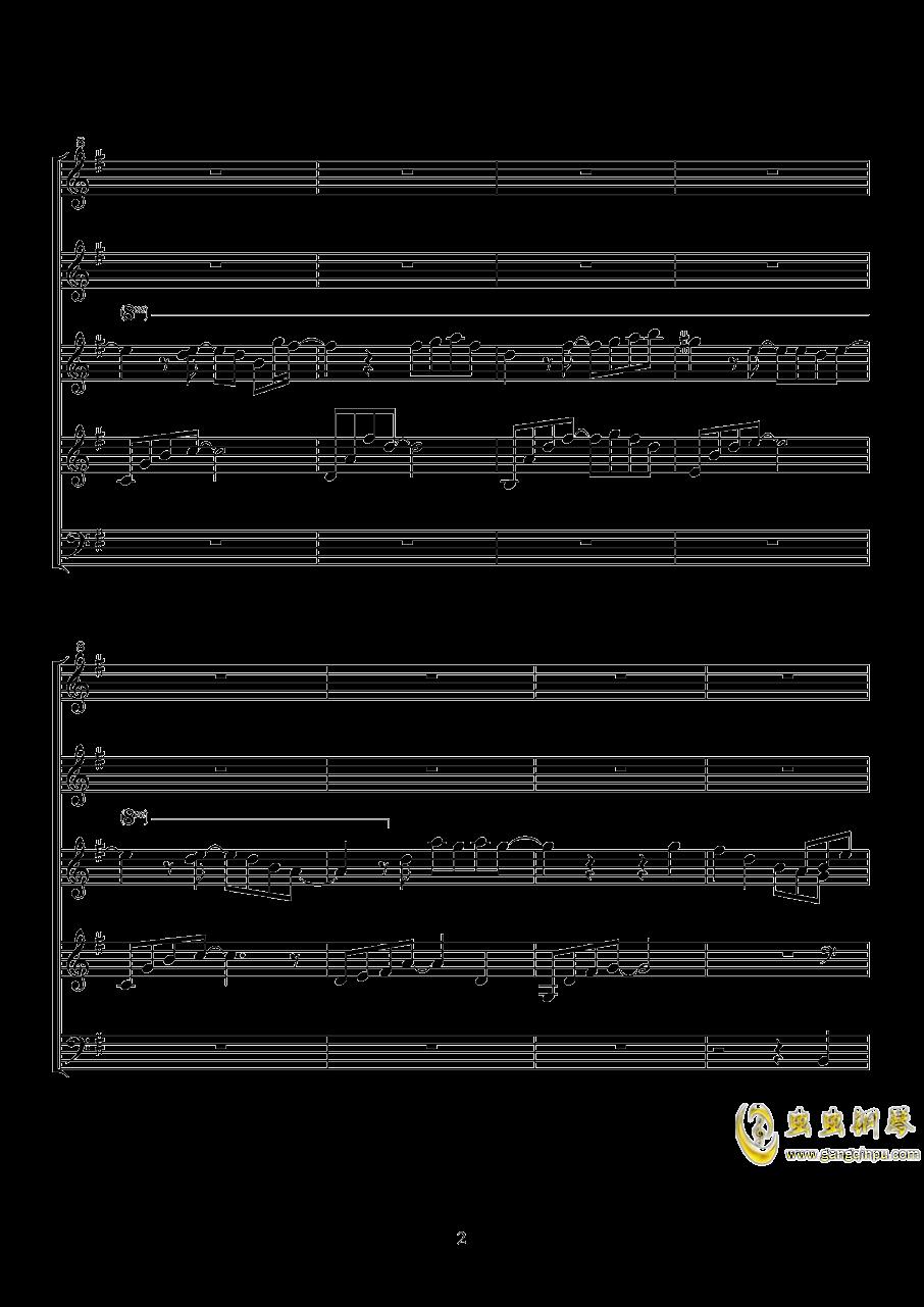 纸樱钢琴谱 第2页