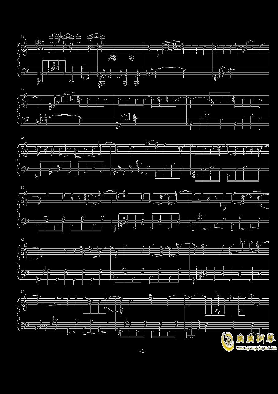流浪地球钢琴谱 第2页