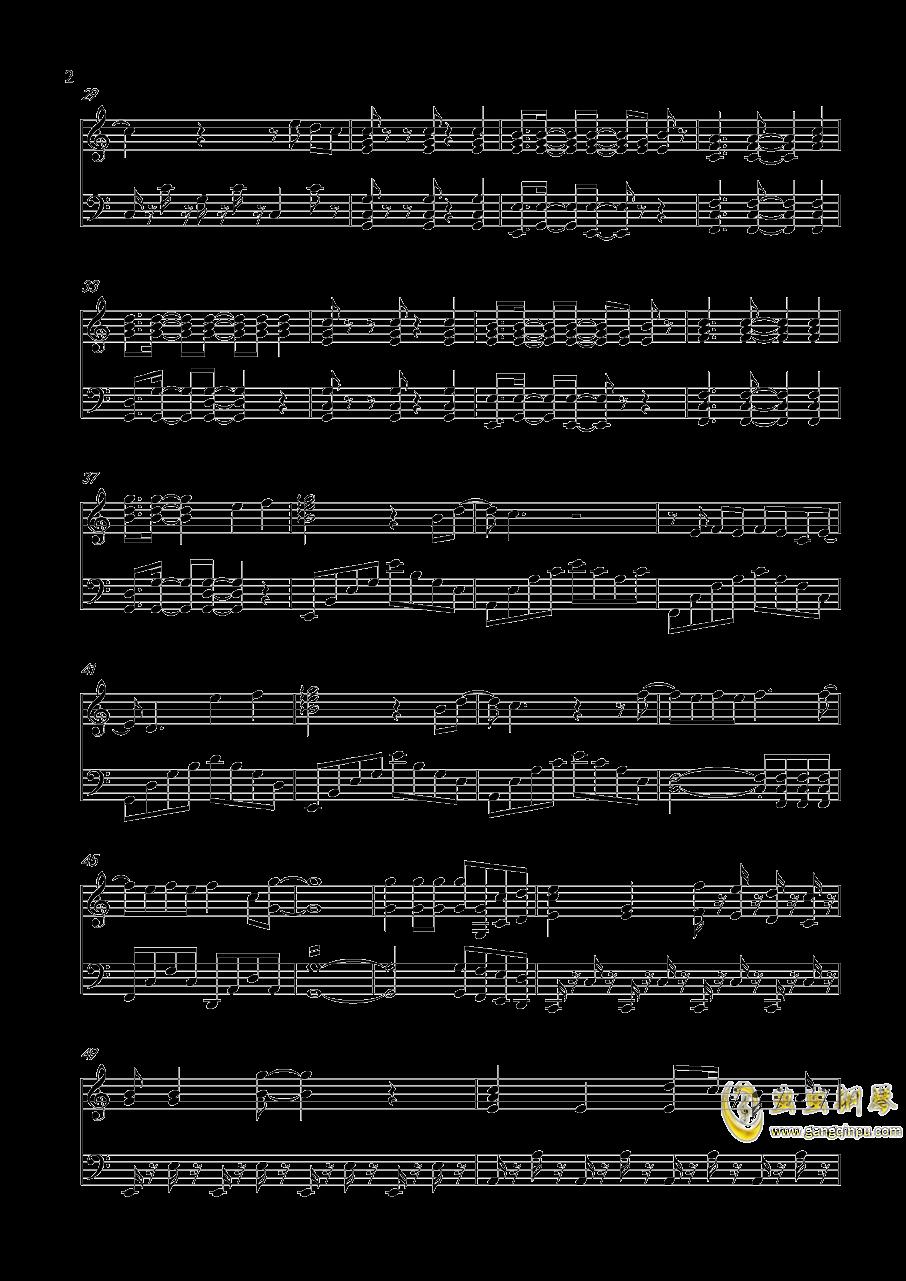 青春修炼手册钢琴谱 第2页