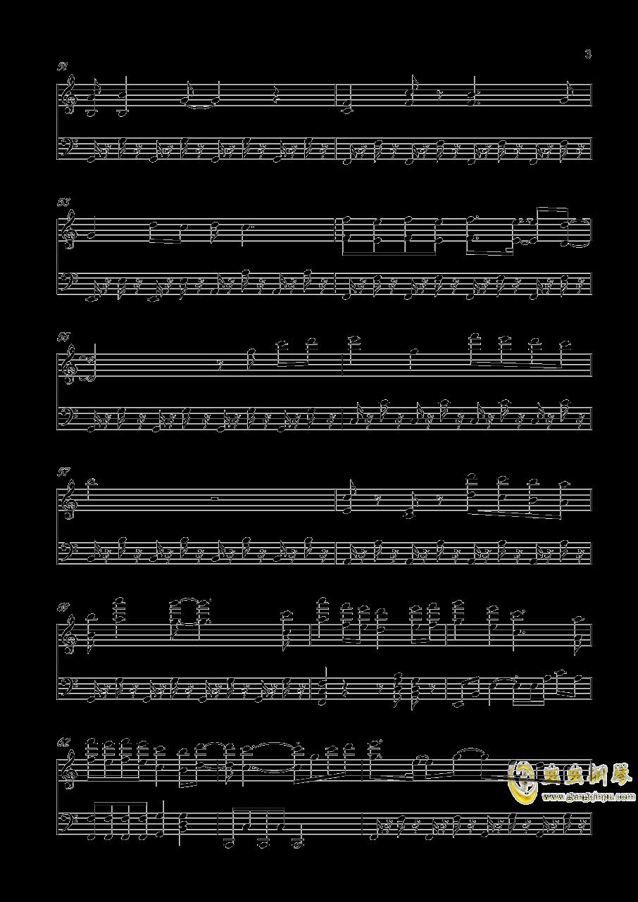 青春修炼手册钢琴谱 第3页