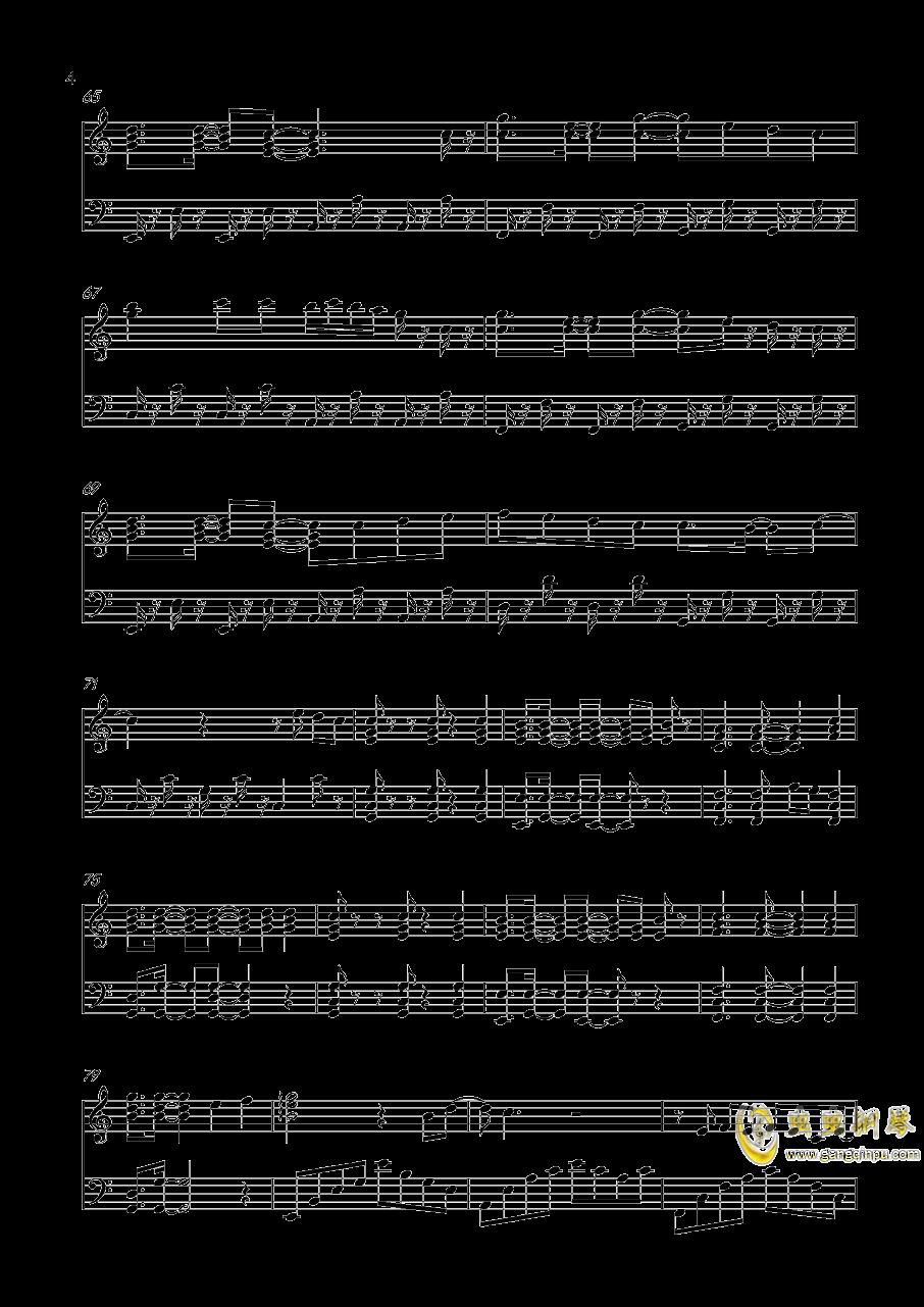 青春修炼手册钢琴谱 第4页