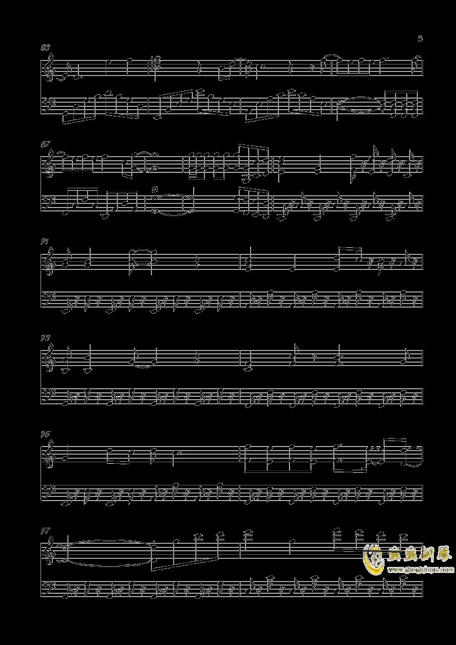 青春修炼手册钢琴谱 第5页