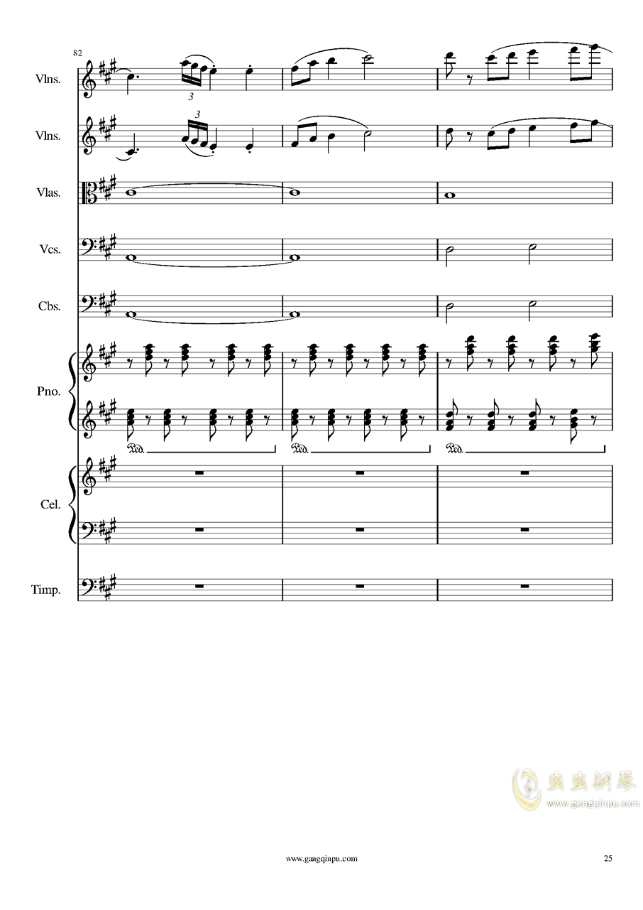 光高校庆序曲,Op.44澳门星际官网 第25页