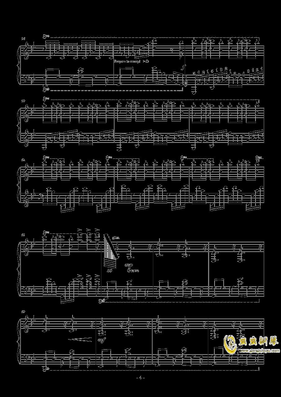 Unravel钢琴谱 第4页