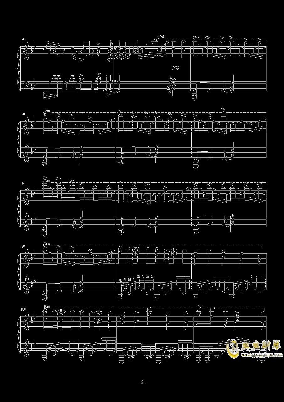 Unravel钢琴谱 第6页
