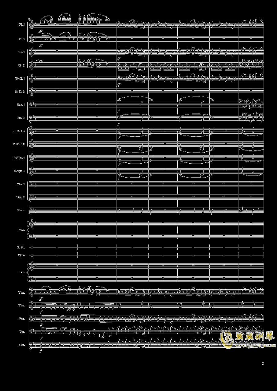 Piano Concerto No.8, Op.123 I.钢琴谱 第3页