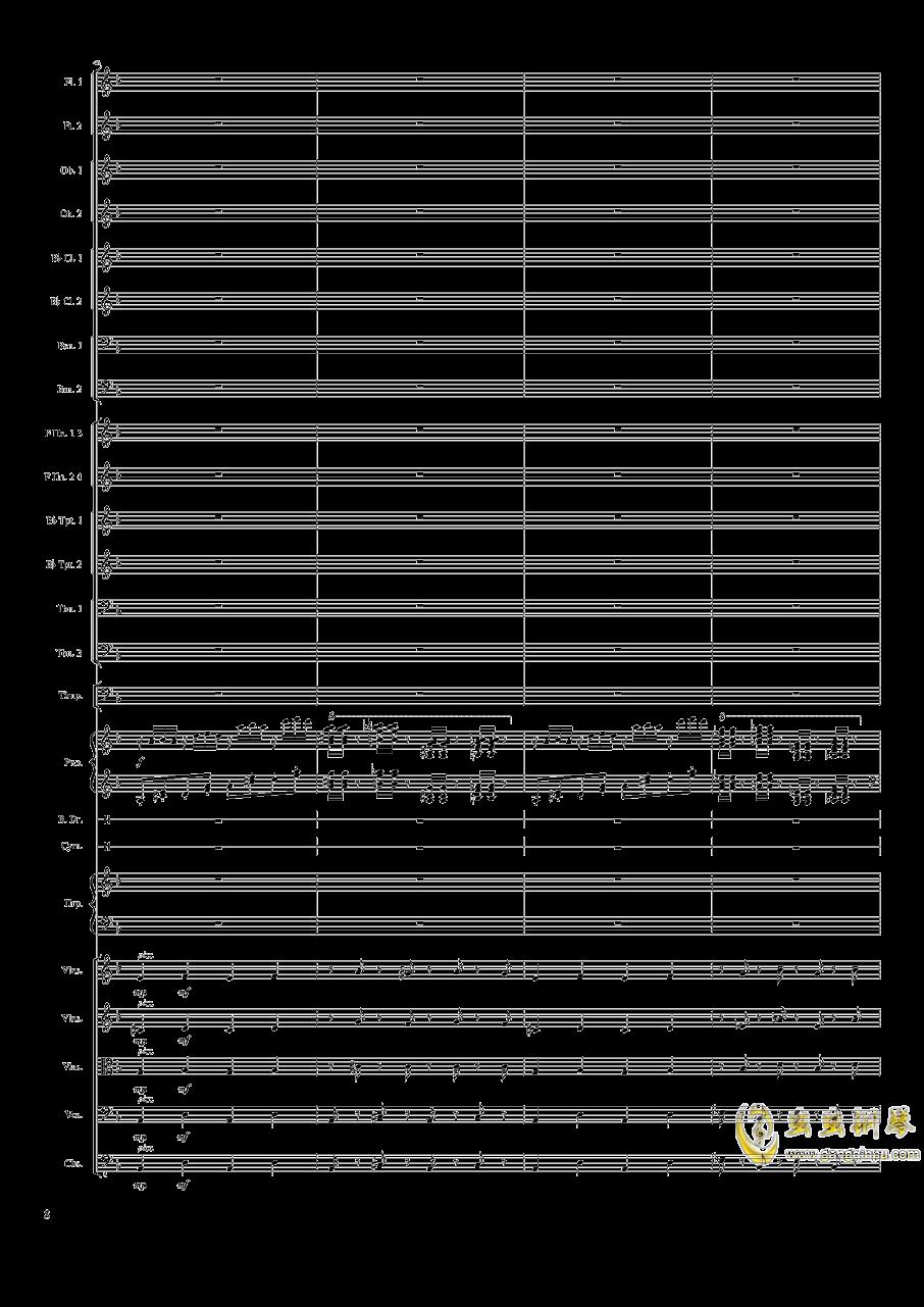 Piano Concerto No.8, Op.123 I.钢琴谱 第8页