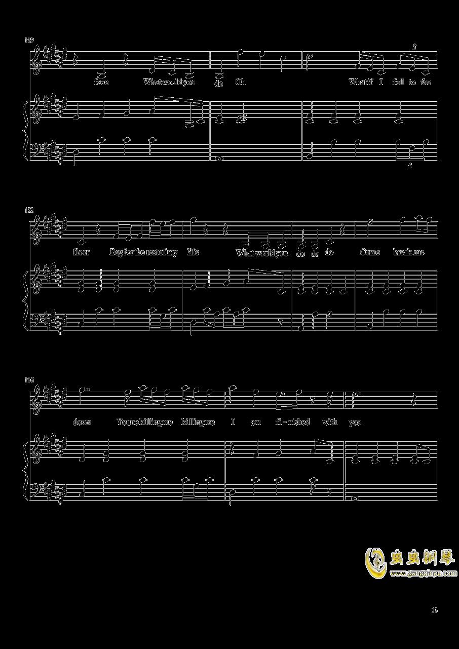 演唱会歌曲串烧弹唱谱钢琴谱 第13页