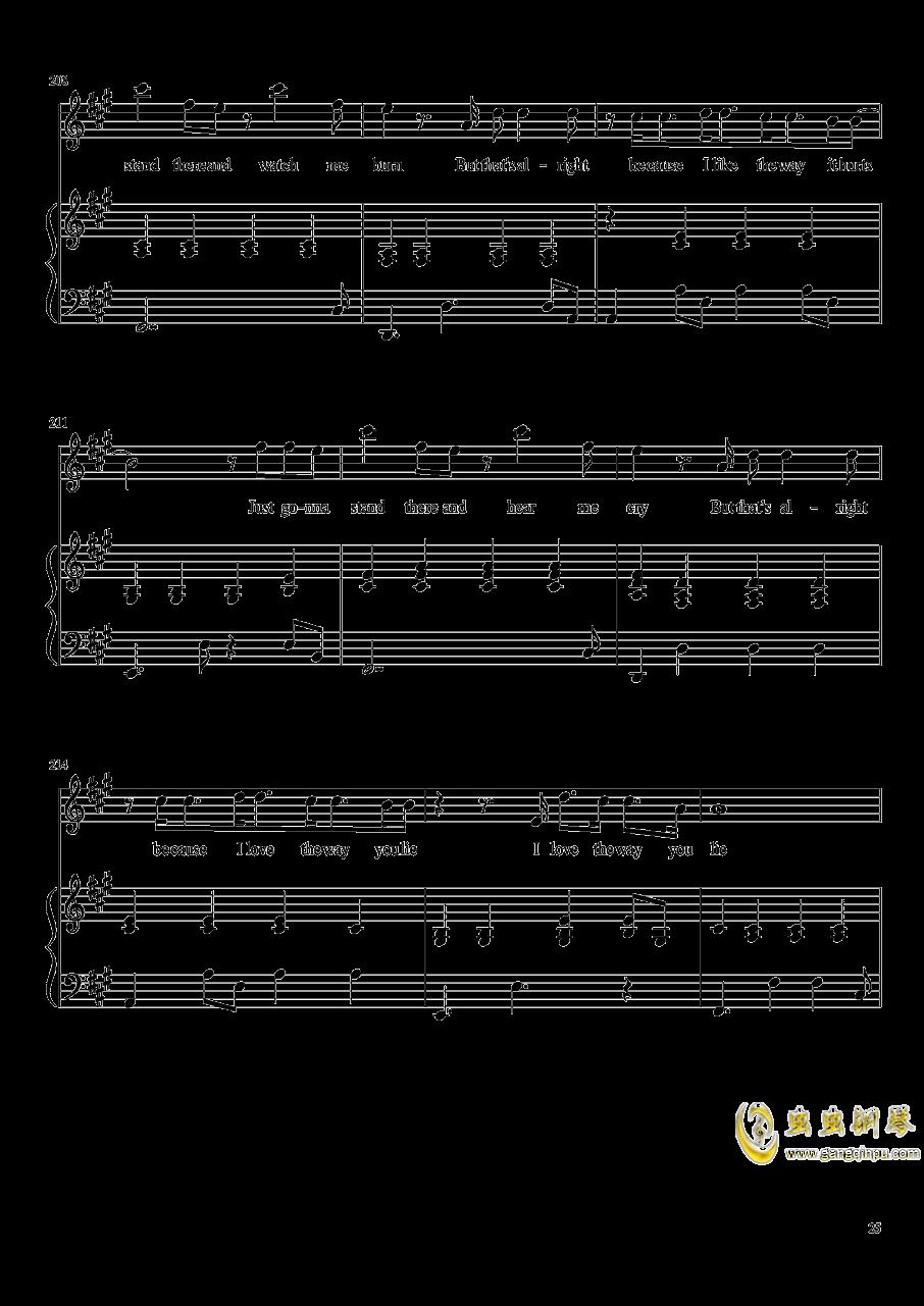 演唱会歌曲串烧弹唱谱钢琴谱 第25页