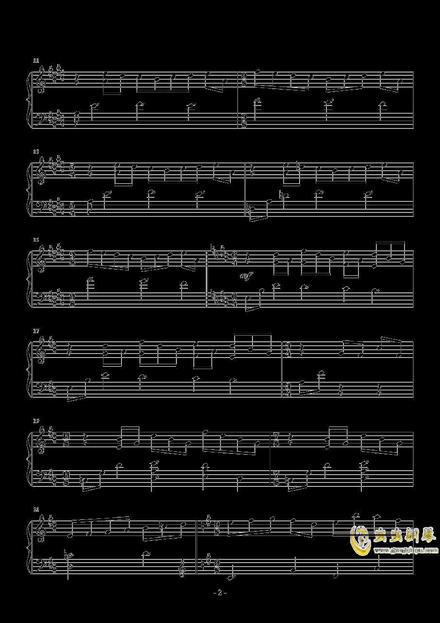 昴宿星团舞曲钢琴谱 第2页