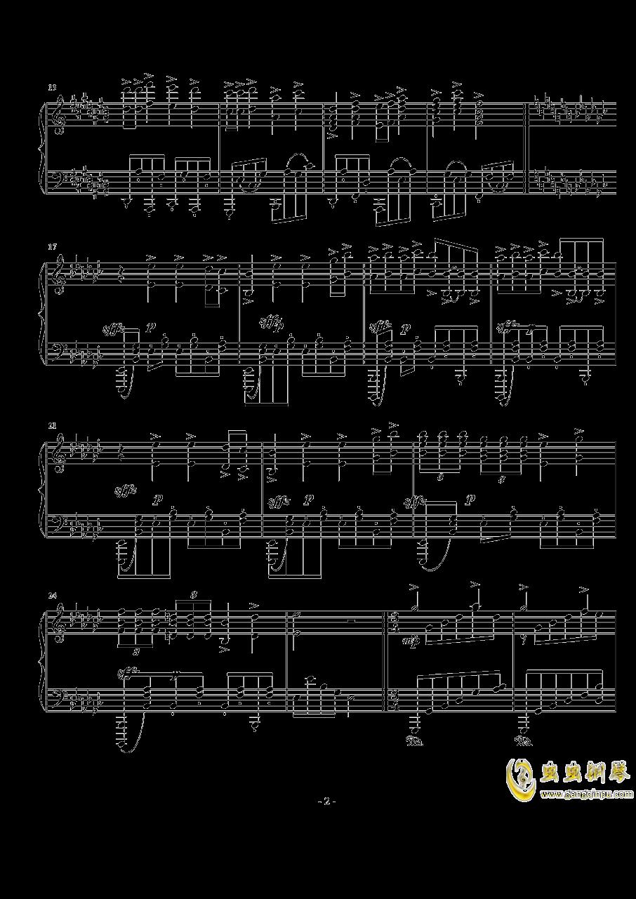 Op.40,前奏曲钢琴谱 第2页