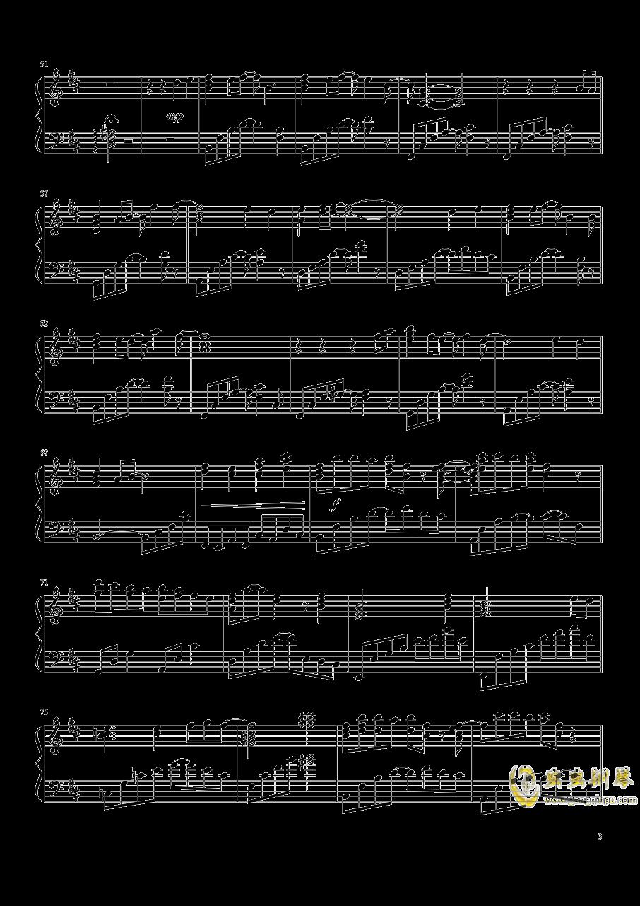 知否知否钢琴谱 第3页