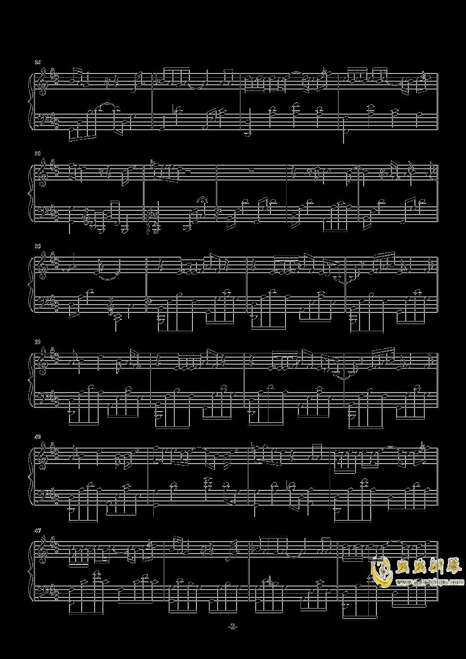 燕窝钢琴谱 第2页