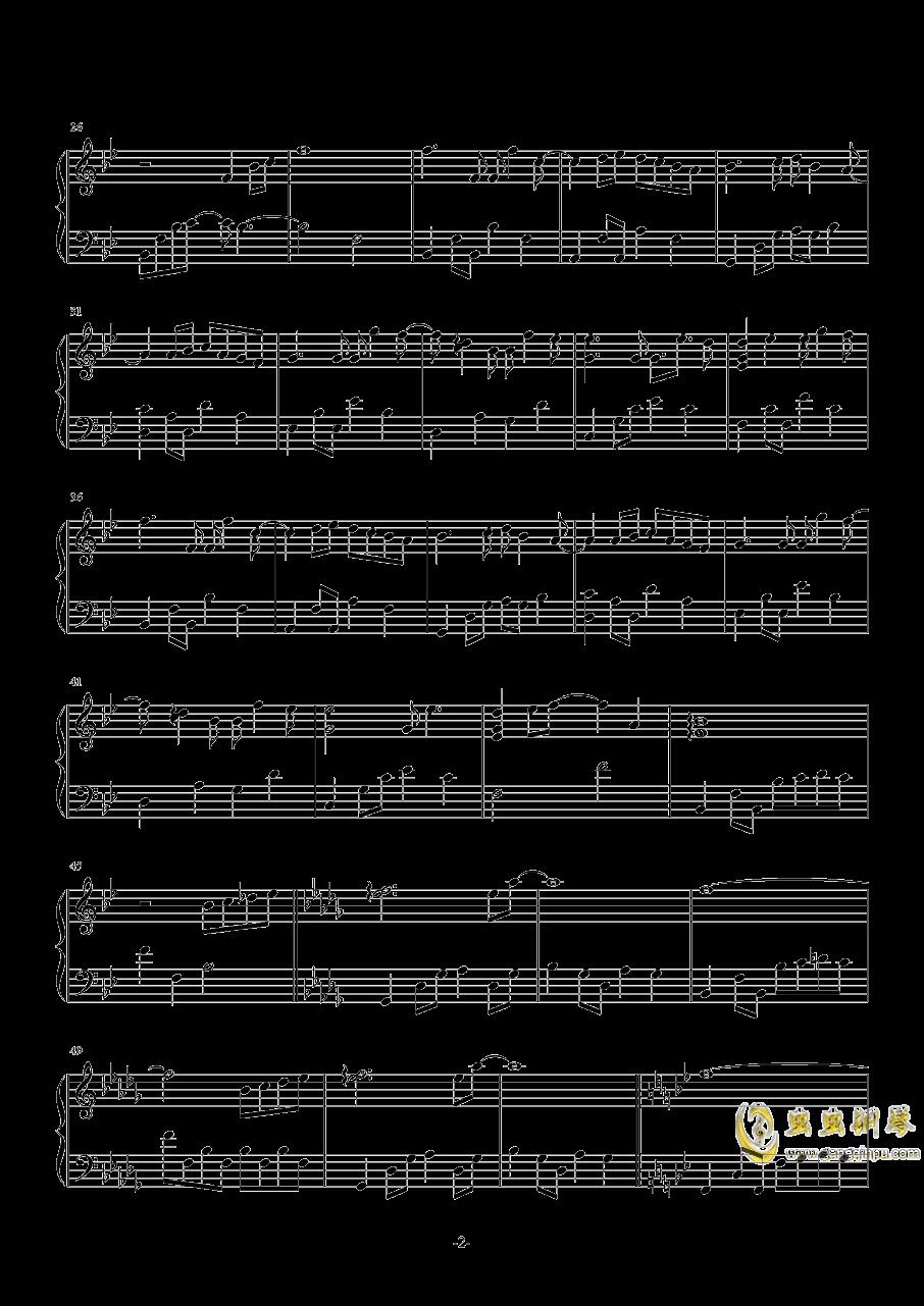 被风吹过的夏天钢琴谱 第2页