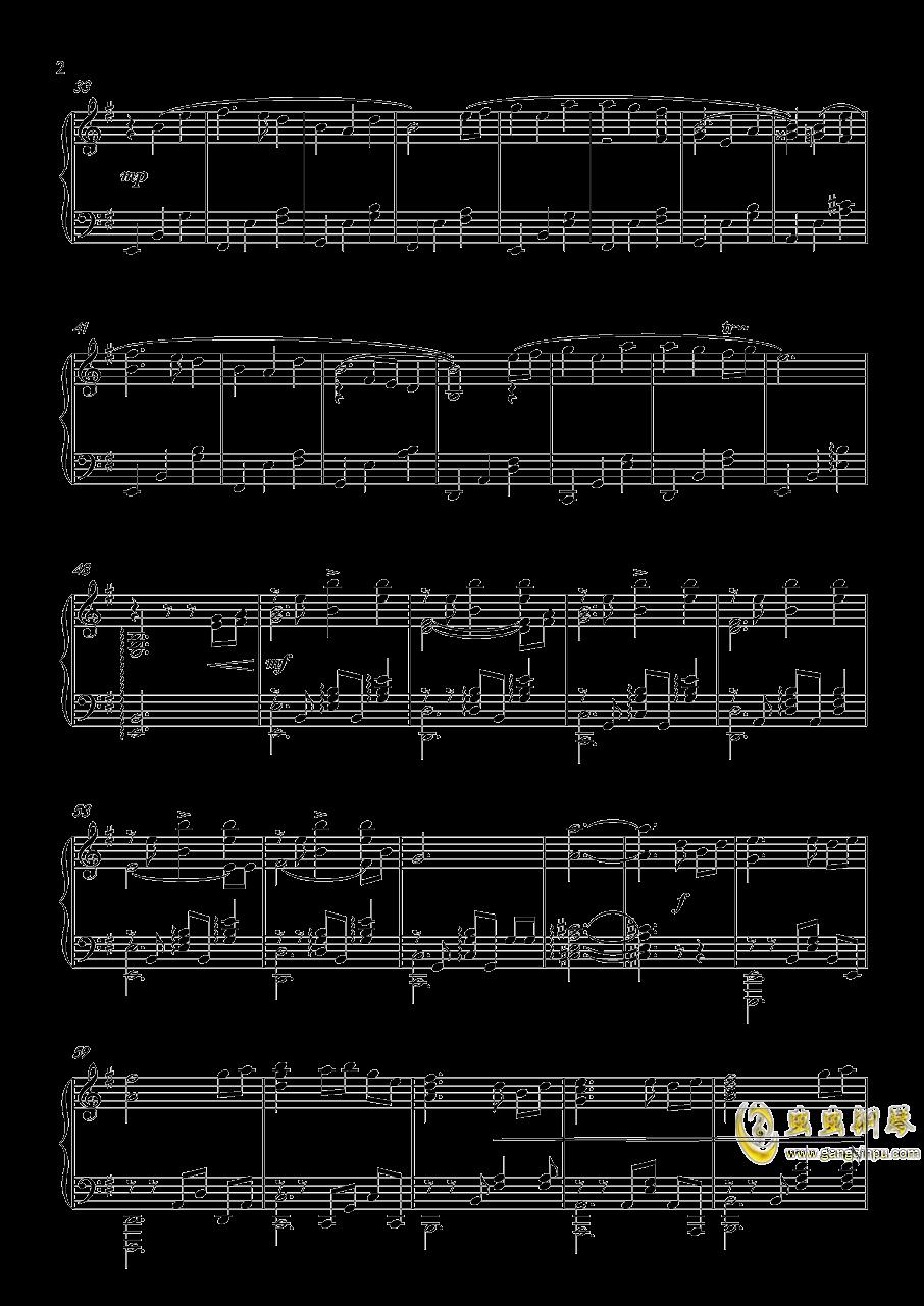 英雄の�篇钢琴谱 第2页