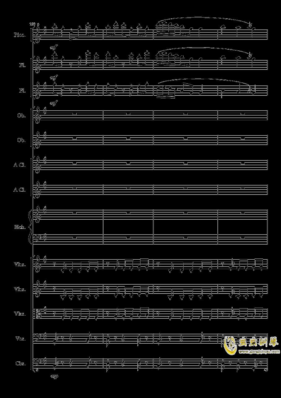 7 Contredanses No.1-7, Op.124 (7首乡村舞曲,第一至第七,作品124)钢琴谱 第43页