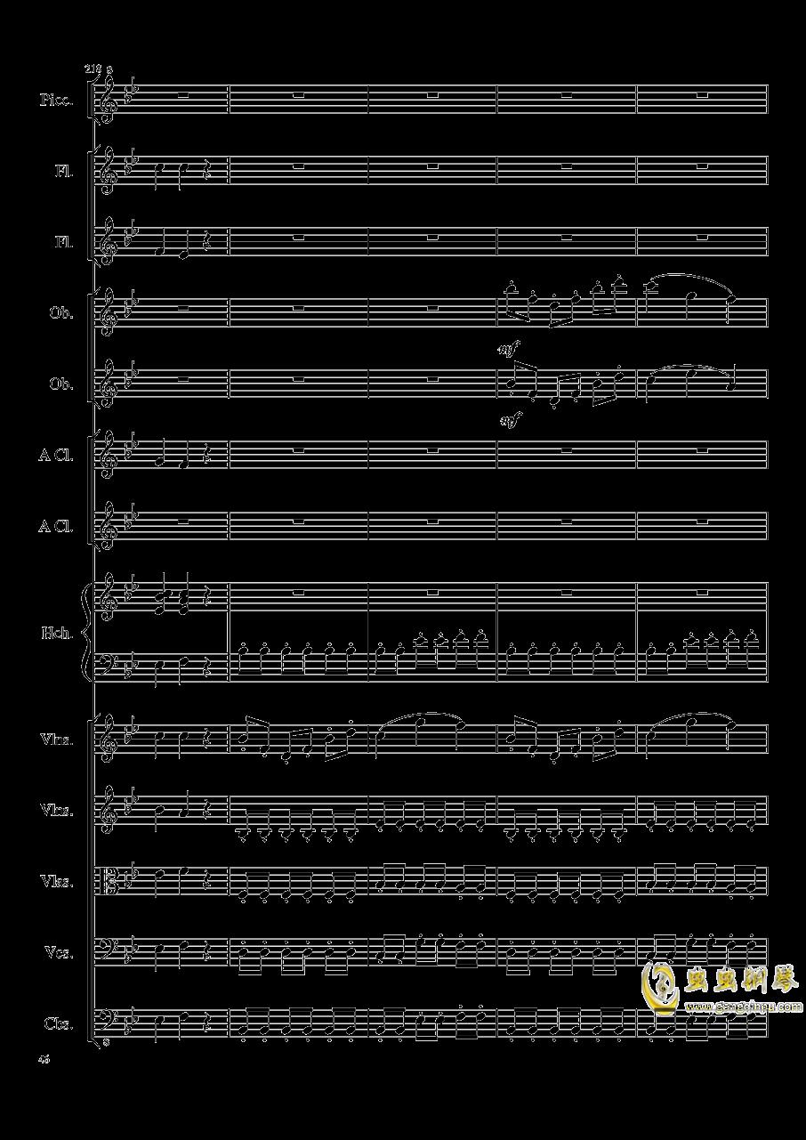 7 Contredanses No.1-7, Op.124 (7首乡村舞曲,第一至第七,作品124)钢琴谱 第46页