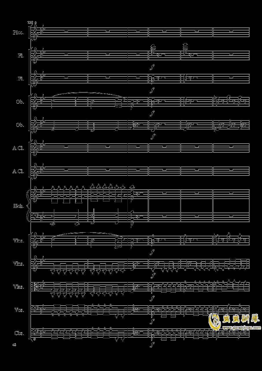 7 Contredanses No.1-7, Op.124 (7首乡村舞曲,第一至第七,作品124)钢琴谱 第48页