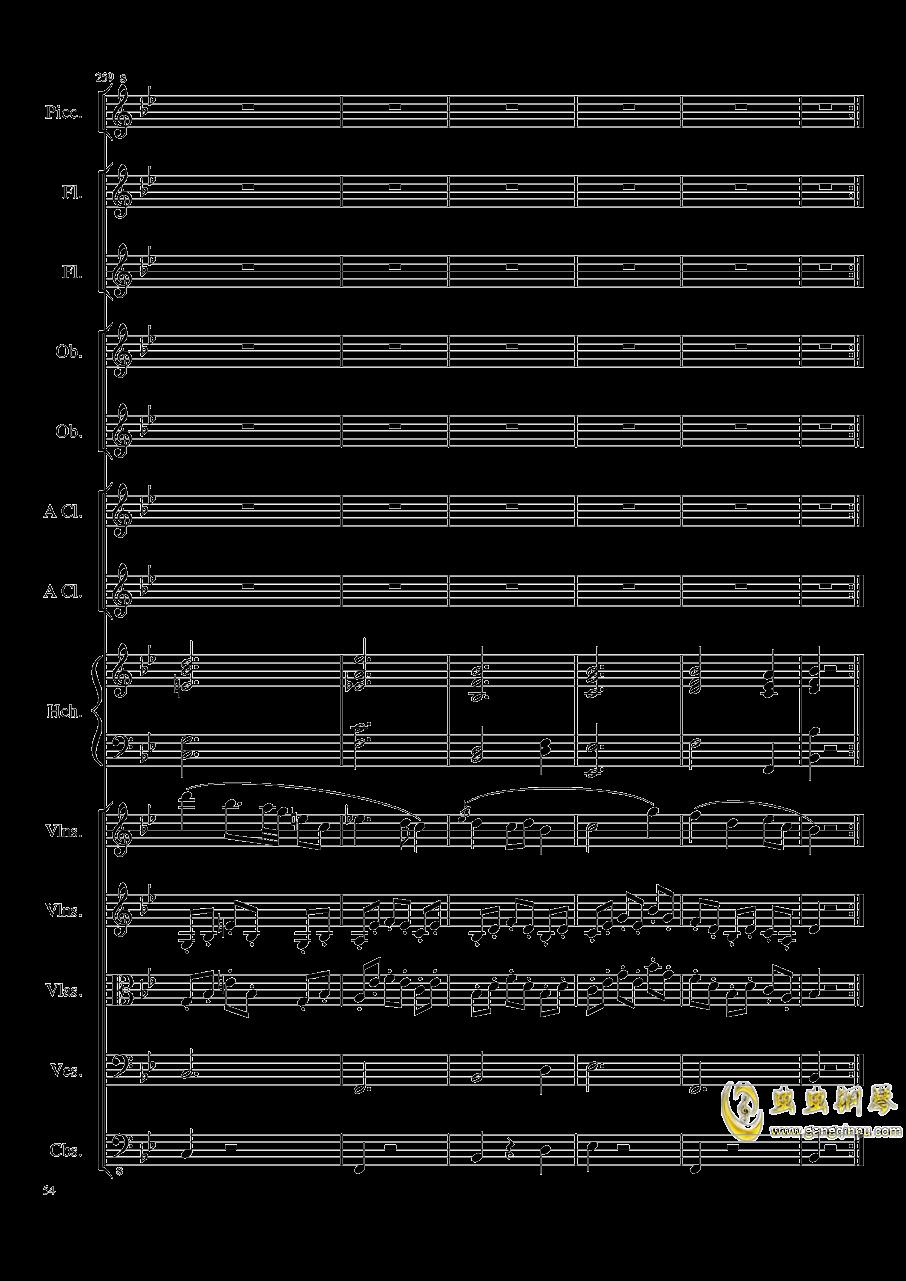 7 Contredanses No.1-7, Op.124 (7首乡村舞曲,第一至第七,作品124)钢琴谱 第54页